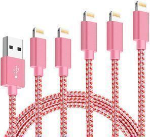 5pk iPhone Charger Lightning Cables