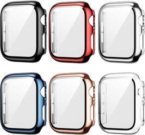 6 Pack Protective Case for Apple Watch