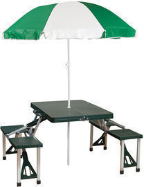 Stansport Folding Picnic Table with Umbrella