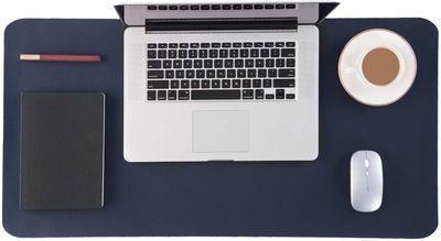Non Slip Leather Desk Pad Protector