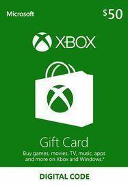 $50 Xbox Live Gift Card Live Key