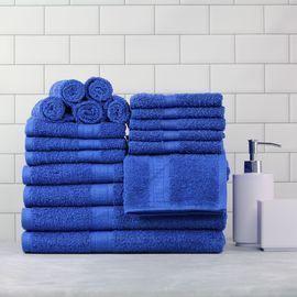 18pc Mainstays Basic Towel Set