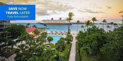Bahamas Beachfront Hilton: 3 Nights for 2 w/Perks