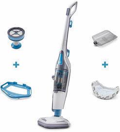 Black & Decker HEPA Corded Steam Mop and Vacuum Cleaner