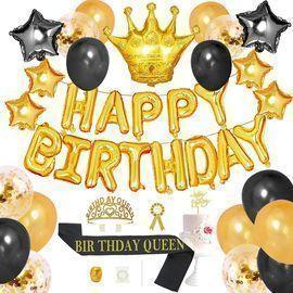 Nuzyz 43pc. Birthday Queen Decoration Kit