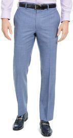 Lauren Ralph Lauren Men's Classic-Fit UltraFlex Stretch Mini-Check Dress Pants