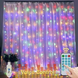LED Voice Activated Curtain Lights