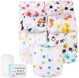 Baby Cloth Diapers 7 Packs