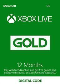 Xbox Live Gold 12 months