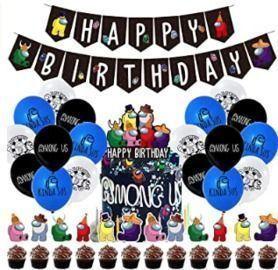 Among Us Birthday Decorations