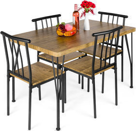 Best Choice Products 5-Piece Dining Table Set