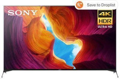 Sony 75 XBR75X950H 4K Smart TV + $100 Visa Gift Card