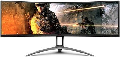 AOC AGON Curved 49 Gaming Monitor