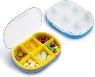 Pill Box Organizer - 2 Pack