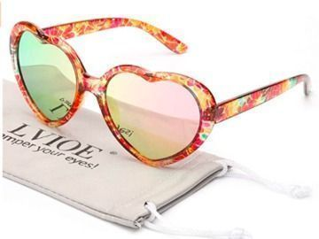 Polarized Heart Shaped Sunglasses