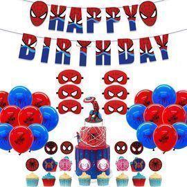 Dan&Y's PTY Spiderman Party Decor