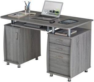 Techni Mobili Complete Workstation 48 Computer Desk