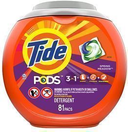 Tide Pods 3-in-1 Laundry Detergent Pacs (81 Count)