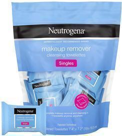 20ct Neutrogena Makeup Remover Facial Cleansing Towelette Singles