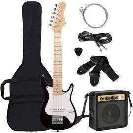 Kids Electric Guitar Starter Kit w/ Amplifier