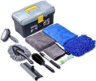 10pcs Car Detailing Cleaning Tools Kit