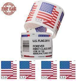 Postage Stamps First Class - Roll of 100