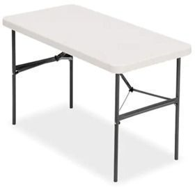 Staples 48 x 24 Folding Table