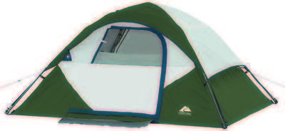 Ozark Trail 6-Piece, 4 Person Camping Combo Tent