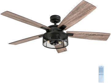 52 Honeywell Carnegie LED Ceiling Fan