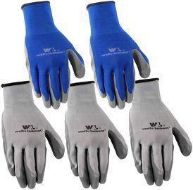 Wells Lamont Large Nitrile Work Gloves 5-Pack