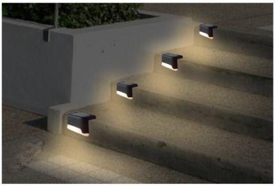 Outdoor Waterproof Solar Fence Light (4 Pack)
