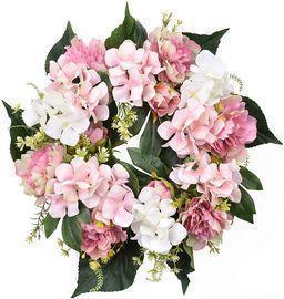 Hydrangeas Spring Door Wreath