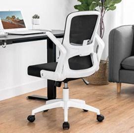 ComHoma White Mesh Office Chair