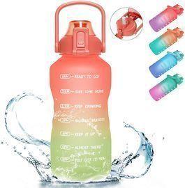 Half Gallon/64oz Motivational Water Bottle