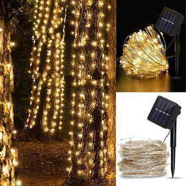 Outdoor Solar String Lights - 33ft