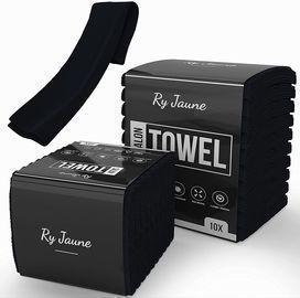 Soft Black Salon Spa Towels - 10 Pack