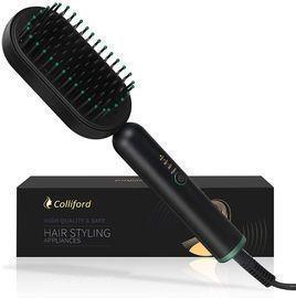 Negative ion Hair Straightening Brush