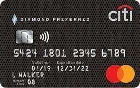 Citi® Diamond Preferred® Card | 0% for 18 Months