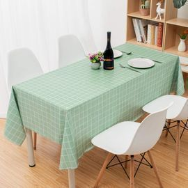 Washable Gingham Table Cloth