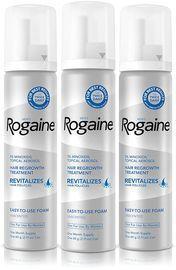 Rogaine Men's 5% Minoxidil 2.11-oz. Topical Foam 3-Pack