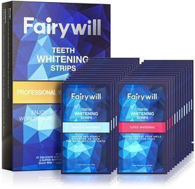 Fairywill Teeth Whitening Strips (50 Pack)
