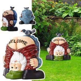 Welcome Gnome Decor