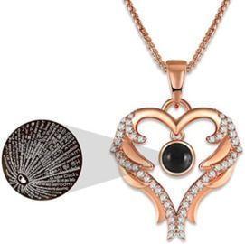 Love Heart Pendant Necklace