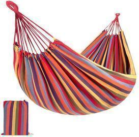 2 Person Brazilian Style Double Hammock W/ Portable Carrying Bag