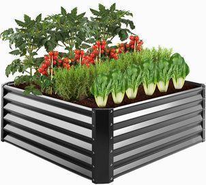 Outdoor Metal Raised Garden Bed
