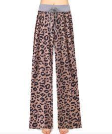 High Waist Wide Leg Lounge Pants