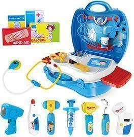 iBaseToy 27pc Doctor Kit for Kids