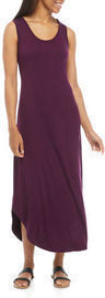 New Directions Women's Round Hem Maxi Dress