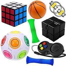 8 Pack Handheld Sensory Fidget Toys Set