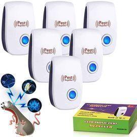 Ultrasonic Pest Repeller-6 Pack